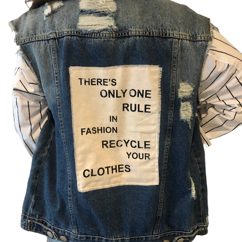 Size Chart, One Rule Denim Vest